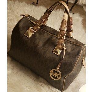*Authentic* Michael Kors Grayson Satchel Handbag